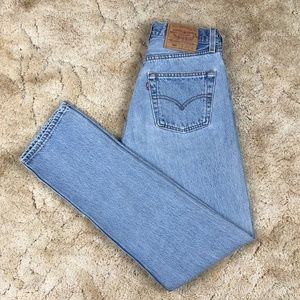 Vintage Levi's 501 For Women Button Fly Jeans 27